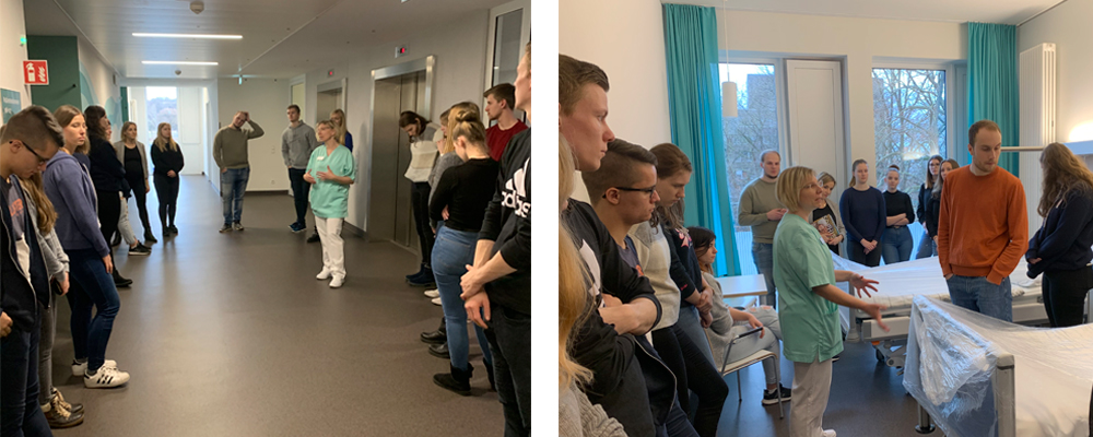 Alice Salomon Schule besucht Sophienklinik – Sophienklinik
